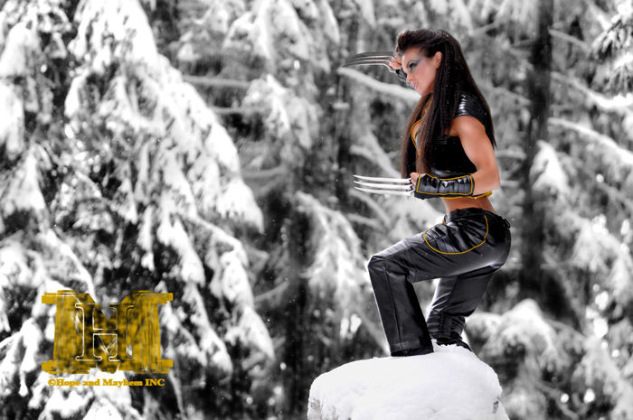 Female Wolverine Cosplay