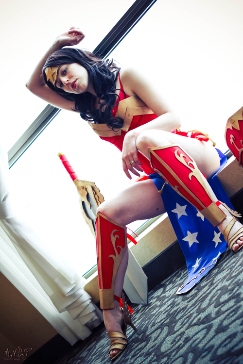 Ame-Comi Wonder Woman Cosplay