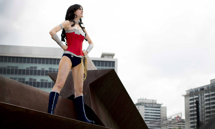 New 52 Wonder Woman Cosplay