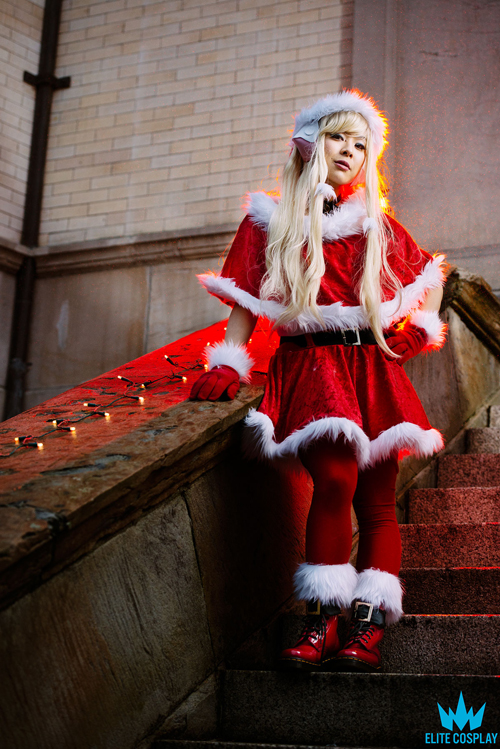 christmas chii chobits cosplay