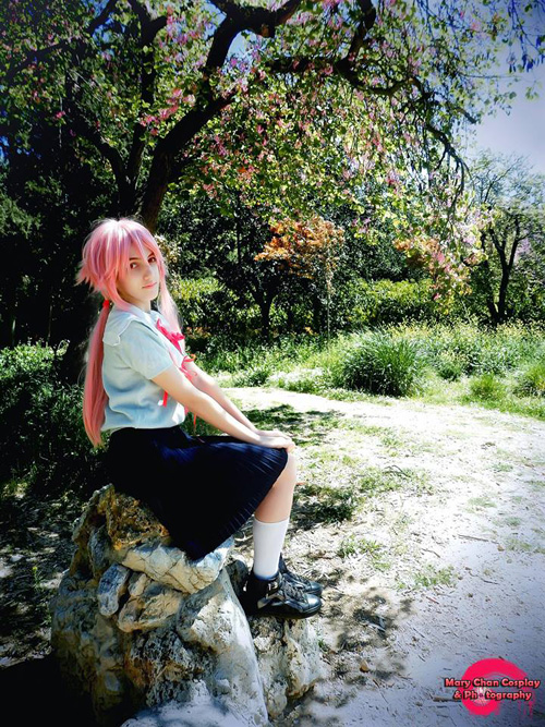 Yuno from Future Diary Cosplays