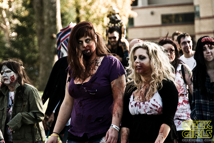 Zombie Walk London Ontario 2011